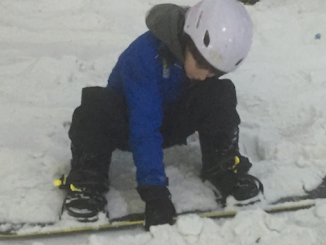 Snowboarding at the Chill Factore