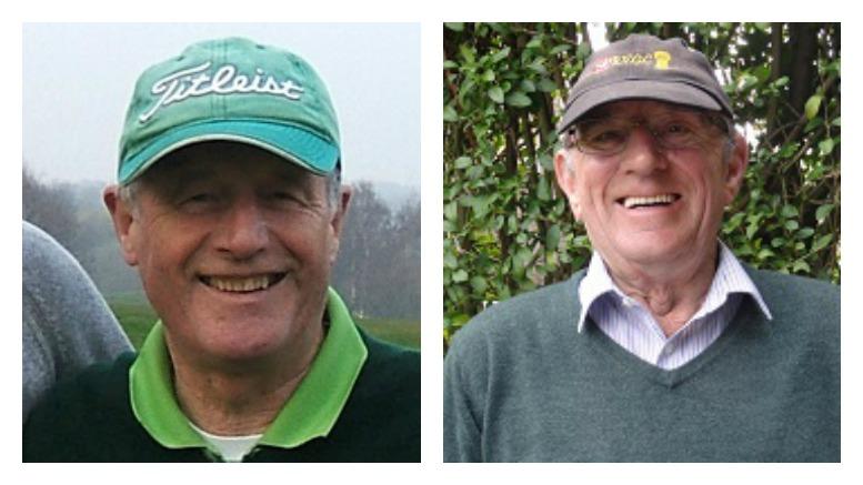 Paddy Weadick (left) and John Wright