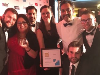 Roberts Jackson's solicitors celebrate at the North East Cheshire Business Awards